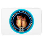 Valxart Gemini zodiac logo Vinyl Magnets