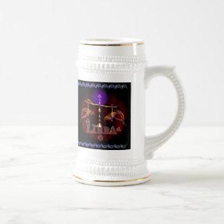 Valxart Gothic Libra zodiac astrology Beer Stein