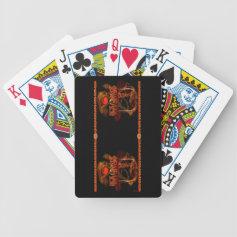 Valxart Gothic Taurus zodiac astrology Poker Cards