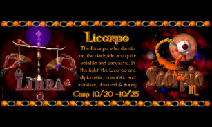 Libra Scorpio Cusp Gifts on Zazzle
