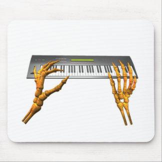 Valxart keyboard hands design mouse pad