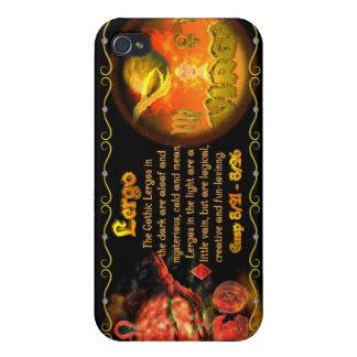 valxart Leo Virgo zodiac Cusp called Lergo iPhone 4/4S Cases