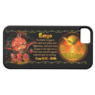 valxart  Leo Virgo zodiac Cusp called Lergo iPhone SE/5/5s Case