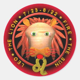 Valxart Leo zodiac Sticker