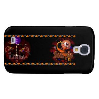 Valxart Libra Scorpio zodiac Cusp or 2 sign Galaxy S4 Cover