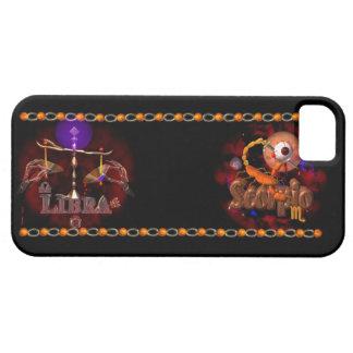 Valxart Libra Scorpio zodiac Cusp or 2 sign iPhone SE/5/5s Case