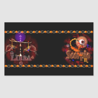 Valxart Licorpo for Libra Scorpio zodiac Cusp Sticker