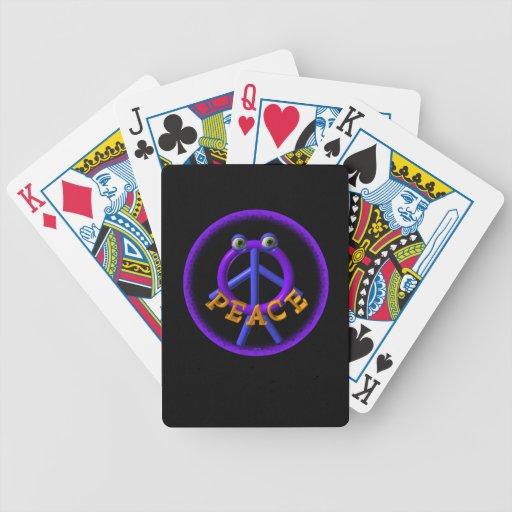 Valxart Peace man is funnier than war Card Decks