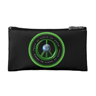 Valxart Peace on Earth  Go Green on 100+ products Cosmetic Bags