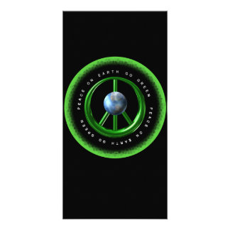 Valxart Peace on Earth  Go Green on 100+ products Photo Cards