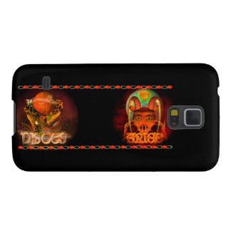 Valxart Pisces Aries zodiac Cusp or 2 sign Case For Galaxy S5