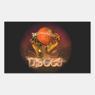 Valxart Pisces creepy zodiac astrology horoscope Sticker