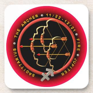 Valxart Sagittarius Hard Plastic coasters