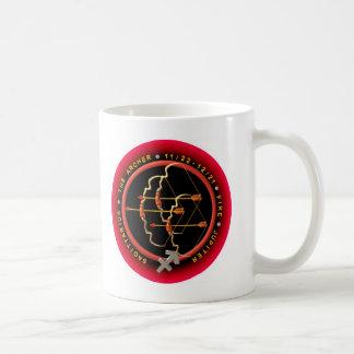 Valxart  Sagittarius zodiac logo Classic White Coffee Mug