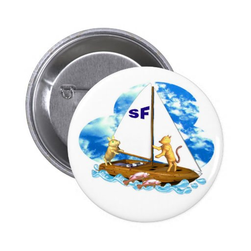 Valxart sails the bay of San Francisco with fishes Pin