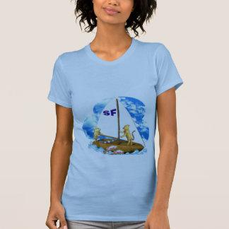 Valxart sails the bay of San Francisco with fishes Shirts