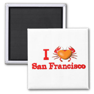 Valxart San Francisco events  crab designs Magnet