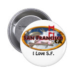 Valxart San Francisco personalized gifts Button