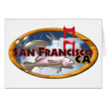 Valxart San Francisco personalized gifts Cards