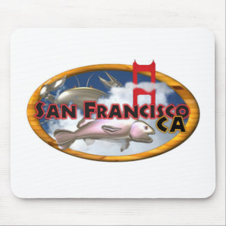 Valxart San Francisco personalized gifts Mouse Pad