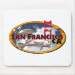 Valxart San Francisco personalized gifts Mouse Pads