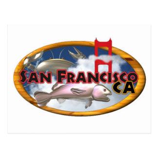 Valxart San Francisco personalized gifts Postcard