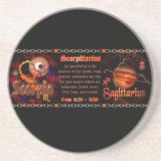 Valxart Scorpio Sagittarius zodiac Cusp Coasters