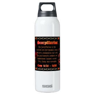 Valxart Scorpio Sagittarius zodiac Cusp 16 Oz Insulated SIGG Thermos Water Bottle