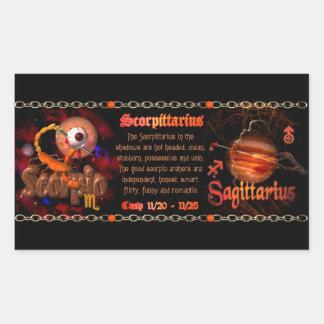 Valxart Scorpio Sagittarius zodiac Cusp Stickers