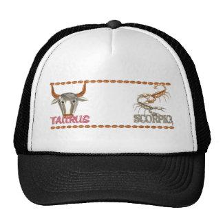 Valxart Taurus Scorpio zodiac friendship designs Trucker Hat