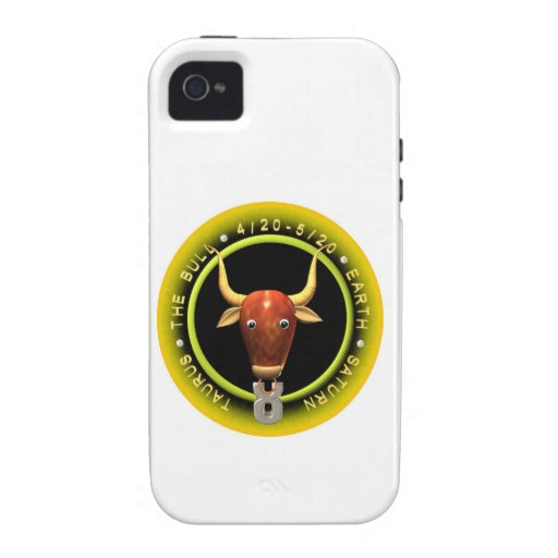 Valxart Taurus zodiac logo iPhone 4 Covers