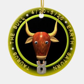 Valxart Taurus Zodiac ornament