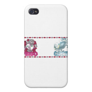 ValxArt Virgo Cancer zodiac friendship gifts iPhone 4 Cover