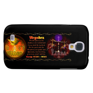 Valxart Virgo Libra zodiac astrology cusp Galaxy S4 Case