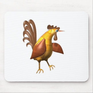 Valxart wood chicken rooster gifts mouse pad