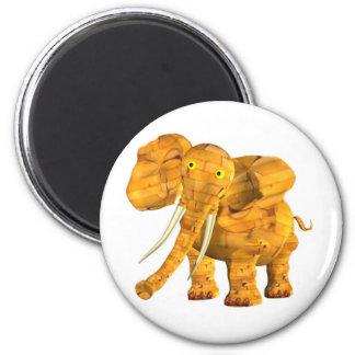 Valxart wood elephant  zodiac friendship coffee mu magnet