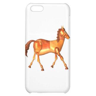 Valxart wood horse zodiac design iPhone 5C covers