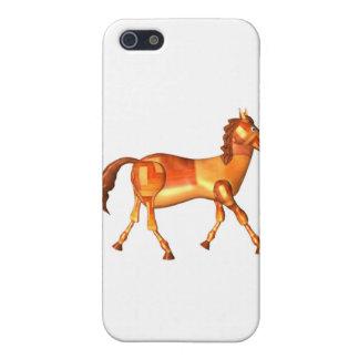 Valxart wood horse zodiac design iPhone 5 cover