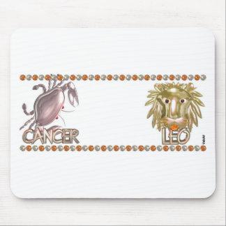 Valxart zodiac Cancer Leo friendship gifts Mouse Pad