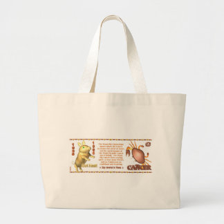 ValxArt Zodiac Cancer wood pig 1935 1995 Canvas Bags