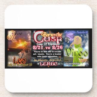 Valxart Zodiac Cusp of Leo  Virgo Drink Coaster