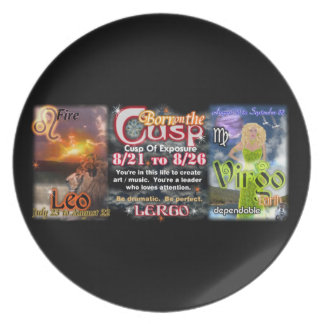 Valxart Zodiac Cusp of Leo  Virgo Dinner Plate