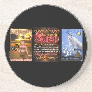 Valxart Zodiac Cusp Sagittarius Capricorn Coaster