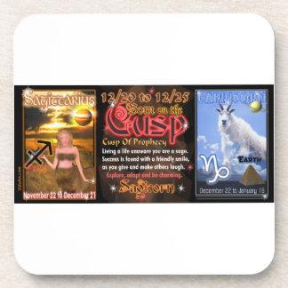 Valxart Zodiac Cusp Sagittarius Capricorn Coasters