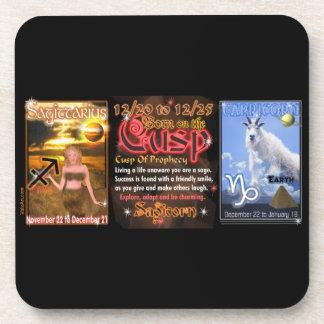 Valxart Zodiac Cusp Sagittarius Capricorn Drink Coasters