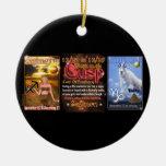 Valxart Zodiac Cusp Sagittarius Capricorn Christmas Tree Ornament