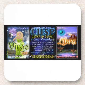 Valxart Zodiac Cusp Virgo Libra Coaster