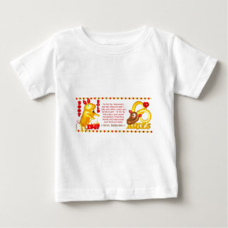 Valxart zodiac fire pig Aries born 1947 2007 Baby T-Shirt