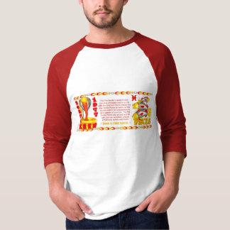 Valxart zodiac fire snake born Pisces T-Shirt