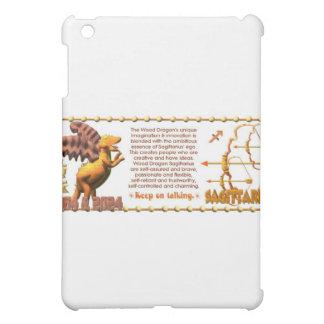 ValxArt Zodiac Sagittarius Wood Dragon 1964 2024 Case For The iPad Mini